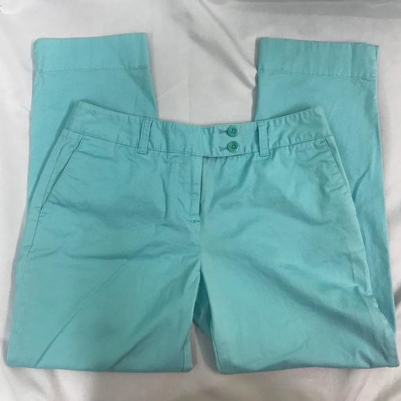 Vineyard Vines Pants - Vineyard Vines Blue Turquoise Capri Pants